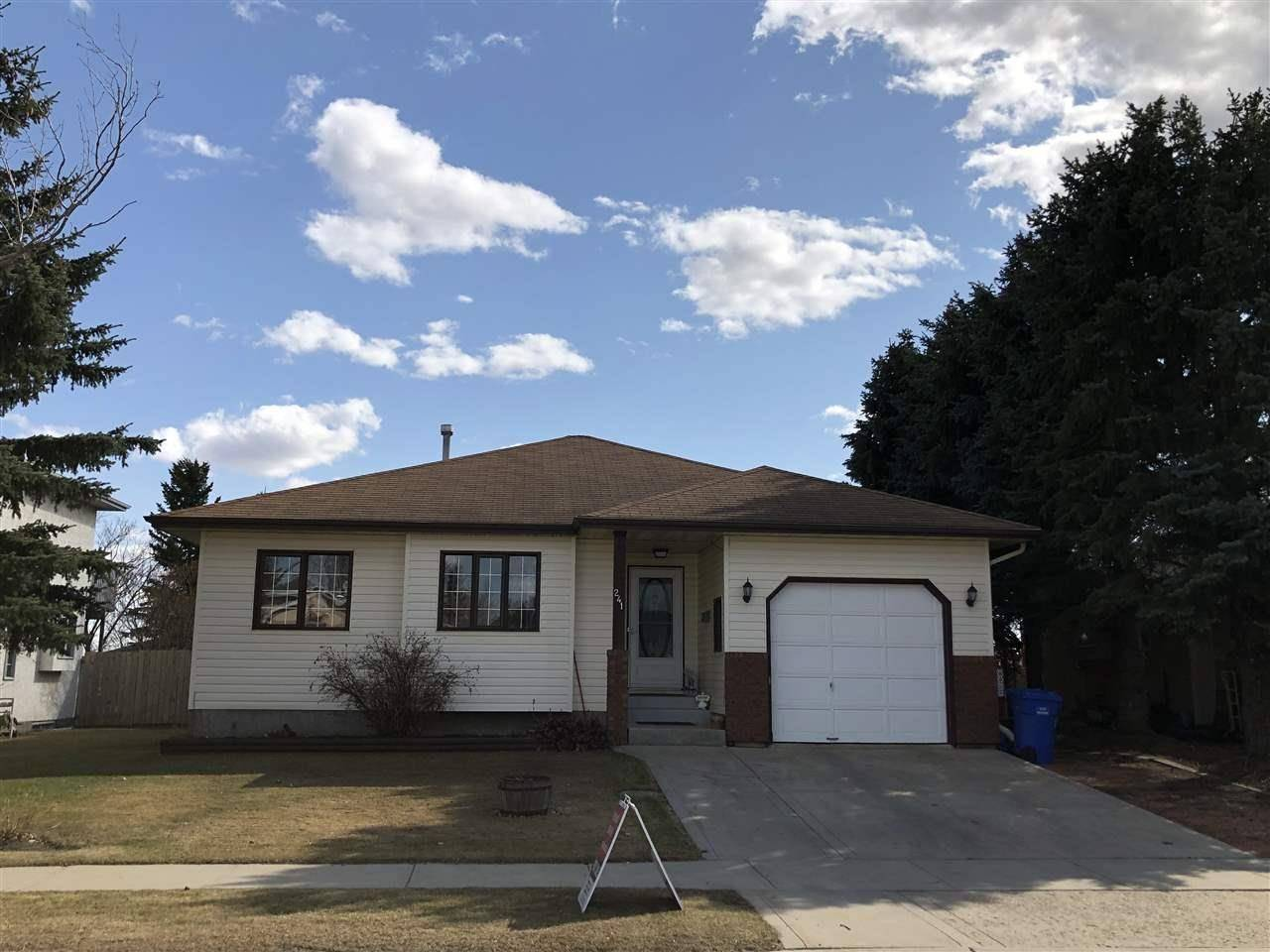 House for sale at 241 Northmount Dr Wetaskiwin Alberta - MLS: E4187848