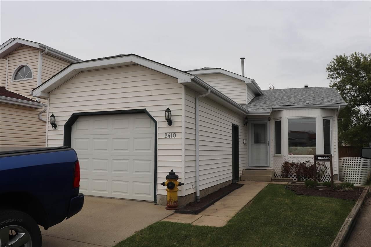 House for sale at 2410 149 Av NW Edmonton Alberta - MLS: E4219779
