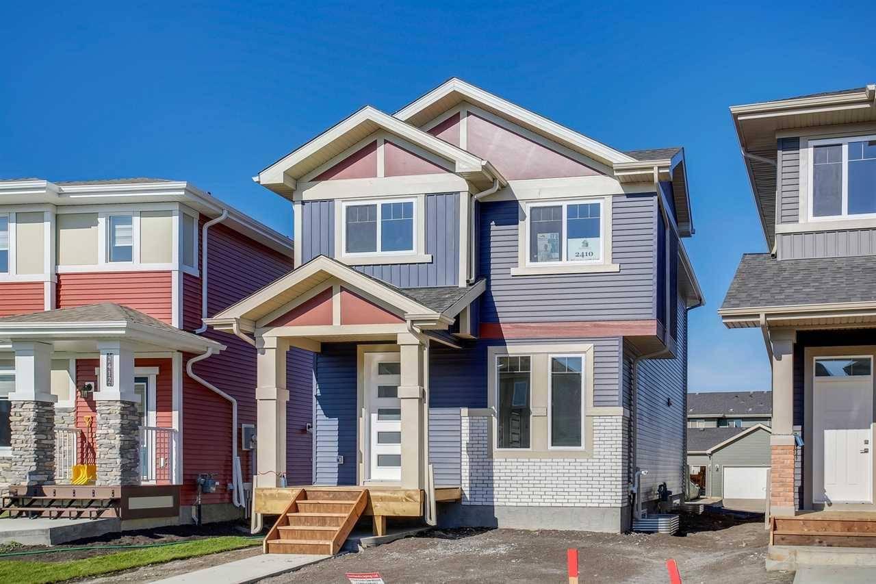 House for sale at 2410 Wonnacott Ct Sw Edmonton Alberta - MLS: E4177174