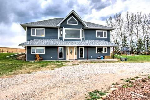House for sale at 241034 Range Road 235  Rural Wheatland County Alberta - MLS: C4288239