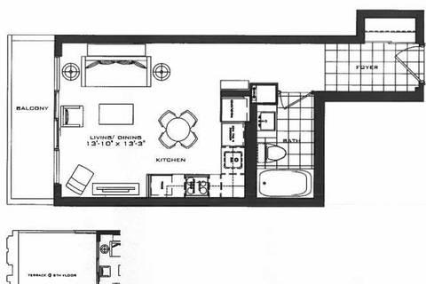 Apartment for rent at 955 Bay St Unit 2411 Toronto Ontario - MLS: C4670310