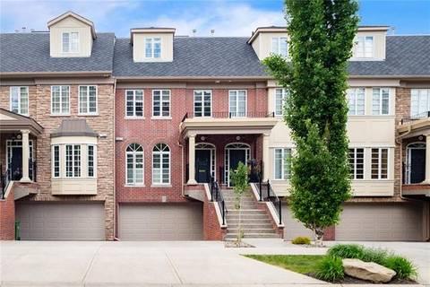 Townhouse for sale at 2411 Erlton St Southwest Calgary Alberta - MLS: C4284811