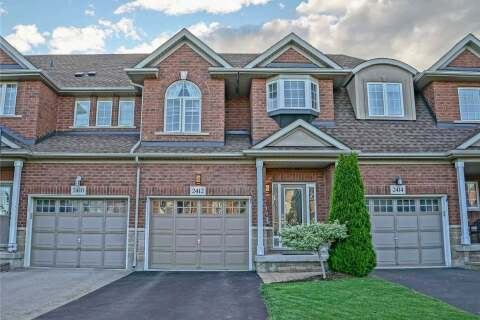 Townhouse for sale at 2412 Shadow Ct Oakville Ontario - MLS: W4781310