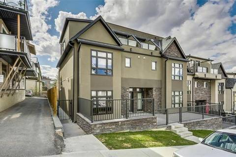 Townhouse for sale at 2413 14a St Southwest Calgary Alberta - MLS: C4287249