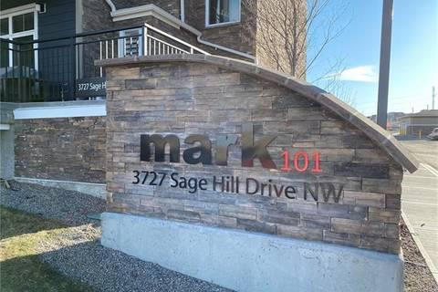 Condo for sale at 3727 Sage Hill Dr Northwest Unit 2416 Calgary Alberta - MLS: C4284806