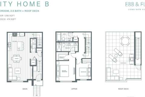 Townhouse for sale at 2035 Glenaire Dr Unit 242 North Vancouver British Columbia - MLS: R2477914