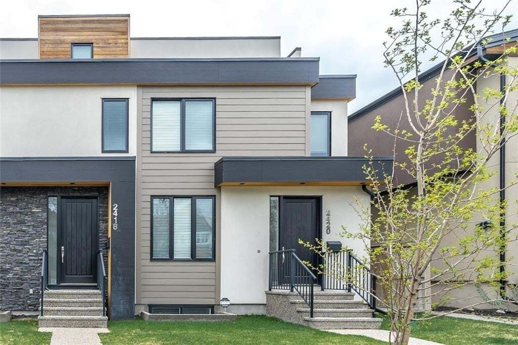 Townhouse for sale at 2420 24a St SW Richmond, Calgary Alberta - MLS: C4300170