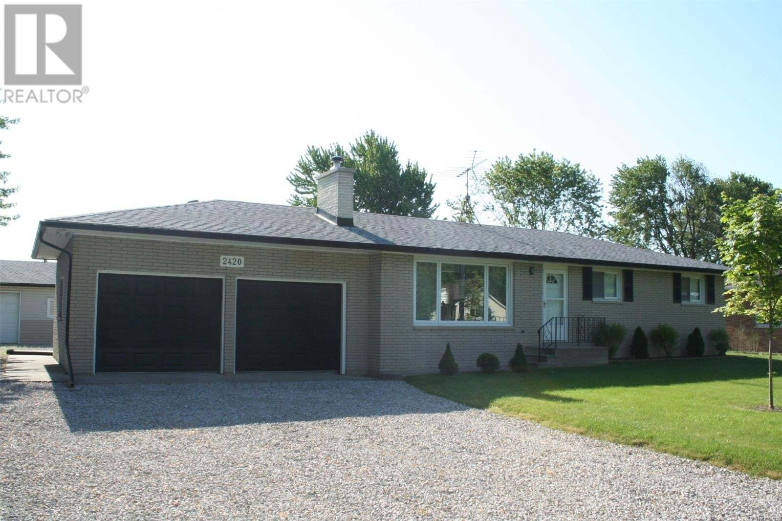 House for sale at 2420 County Rd 27  Lakeshore Ontario - MLS: 20006414