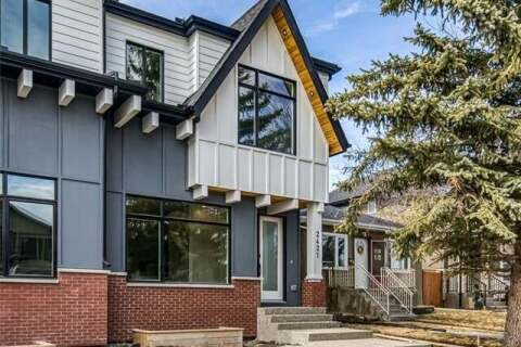 Townhouse for sale at 2421 25a St Southwest Calgary Alberta - MLS: C4299156