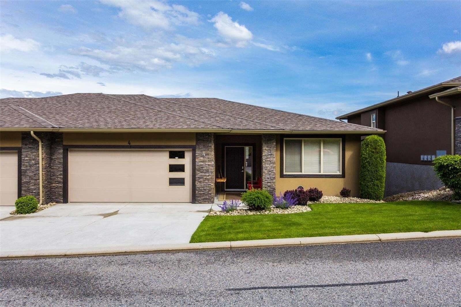 Townhouse for sale at 2421 Glacier Ct Kelowna British Columbia - MLS: 10207790
