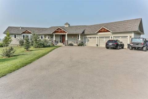 House for sale at 242197 1098 Dr East Rural Foothills County Alberta - MLS: C4249307