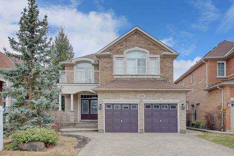 House for sale at 2422 Hertfordshire Wy Oakville Ontario - MLS: W4724051
