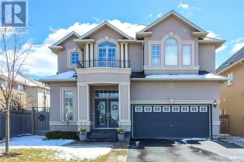 House for sale at 2422 Kwinter Rd Oakville Ontario - MLS: 30721700