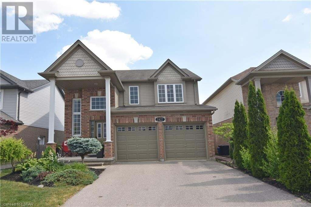 House for sale at 2427 Asima Dr London Ontario - MLS: 268159