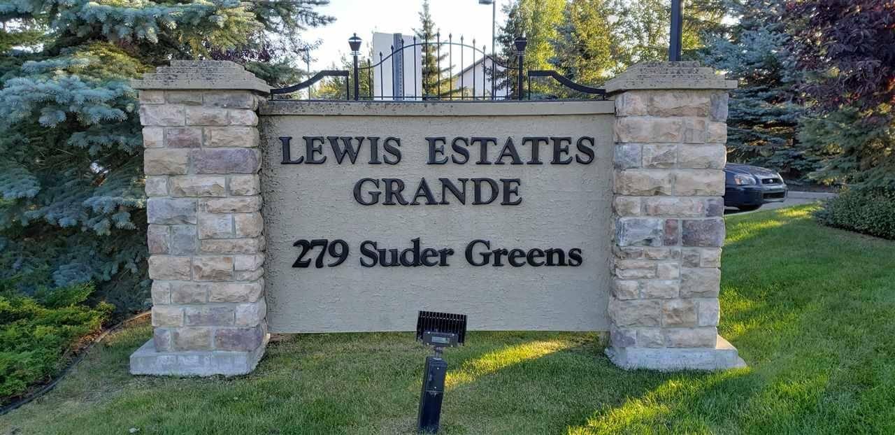 Condo for sale at 279 Suder Greens Dr Nw Unit 243 Edmonton Alberta - MLS: E4175448