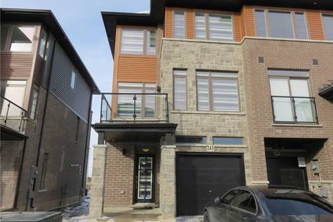 Townhouse for rent at 30 Times Square Blvd Unit 243 Hamilton Ontario - MLS: X4653068