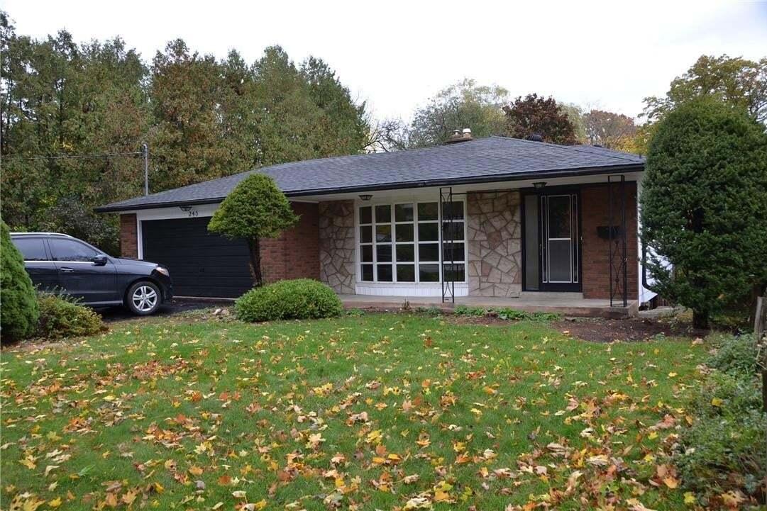 House for rent at 243 Appleby Line Burlington Ontario - MLS: H4090746