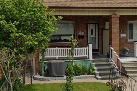 Townhouse for sale at 243 Boon Ave Toronto Ontario - MLS: W4703431