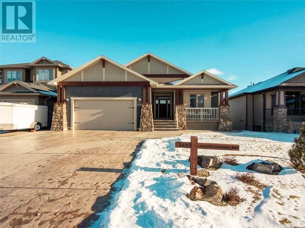 House for sale at 243 Canyon Estates Wy W Lethbridge Alberta - MLS: ld0185295