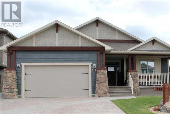 House for sale at 243 Canyon Estates Wy West Lethbridge Alberta - MLS: ld0193337
