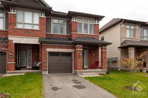 House for sale at 243 Dolce Cres Manotick Ontario - MLS: 1216254