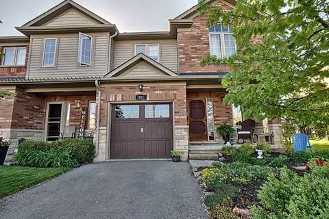 Townhouse for sale at 243 Fall Fair Wy Hamilton Ontario - MLS: X4464165