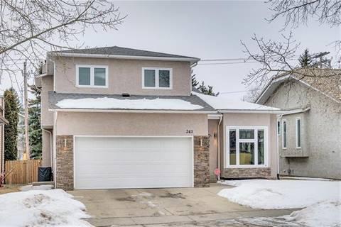 House for sale at 243 Hawkwood Blvd Northwest Calgary Alberta - MLS: C4283380