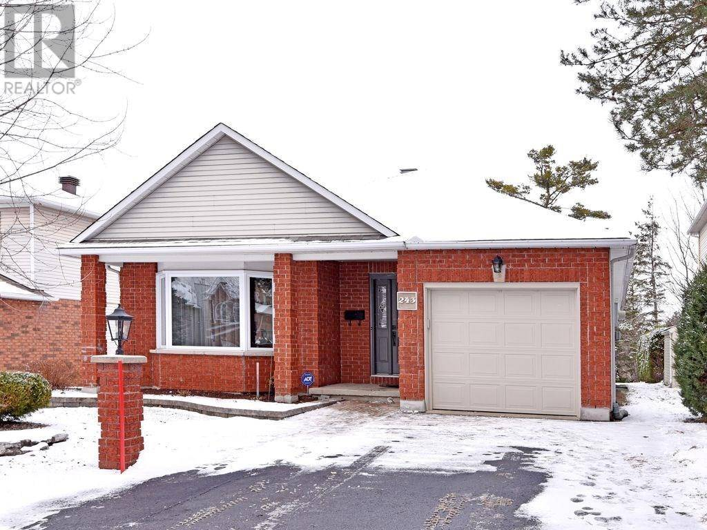 House for sale at 243 Mcgibbon Dr Ottawa Ontario - MLS: 1176445