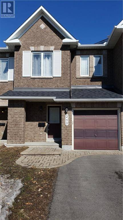 Townhouse for sale at 243 Monaco Pl Ottawa Ontario - MLS: 1186257