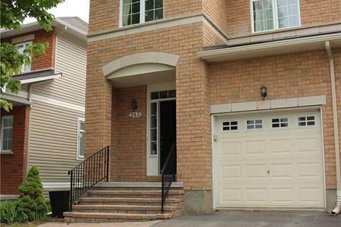 Townhouse for rent at 243 Portrush Ave Ottawa Ontario - MLS: 1154338