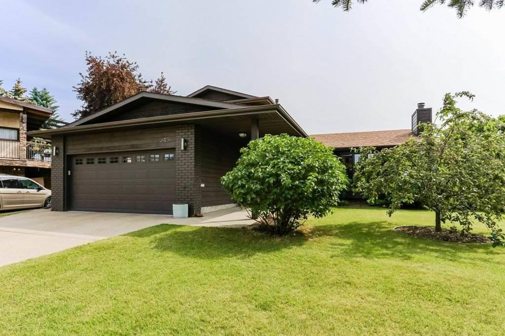 House for sale at 243 Rhatigan Rd Nw Edmonton Alberta - MLS: E4164483