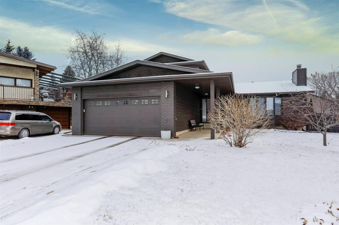 House for sale at 243 Rhatigan Rd Nw Edmonton Alberta - MLS: E4182837