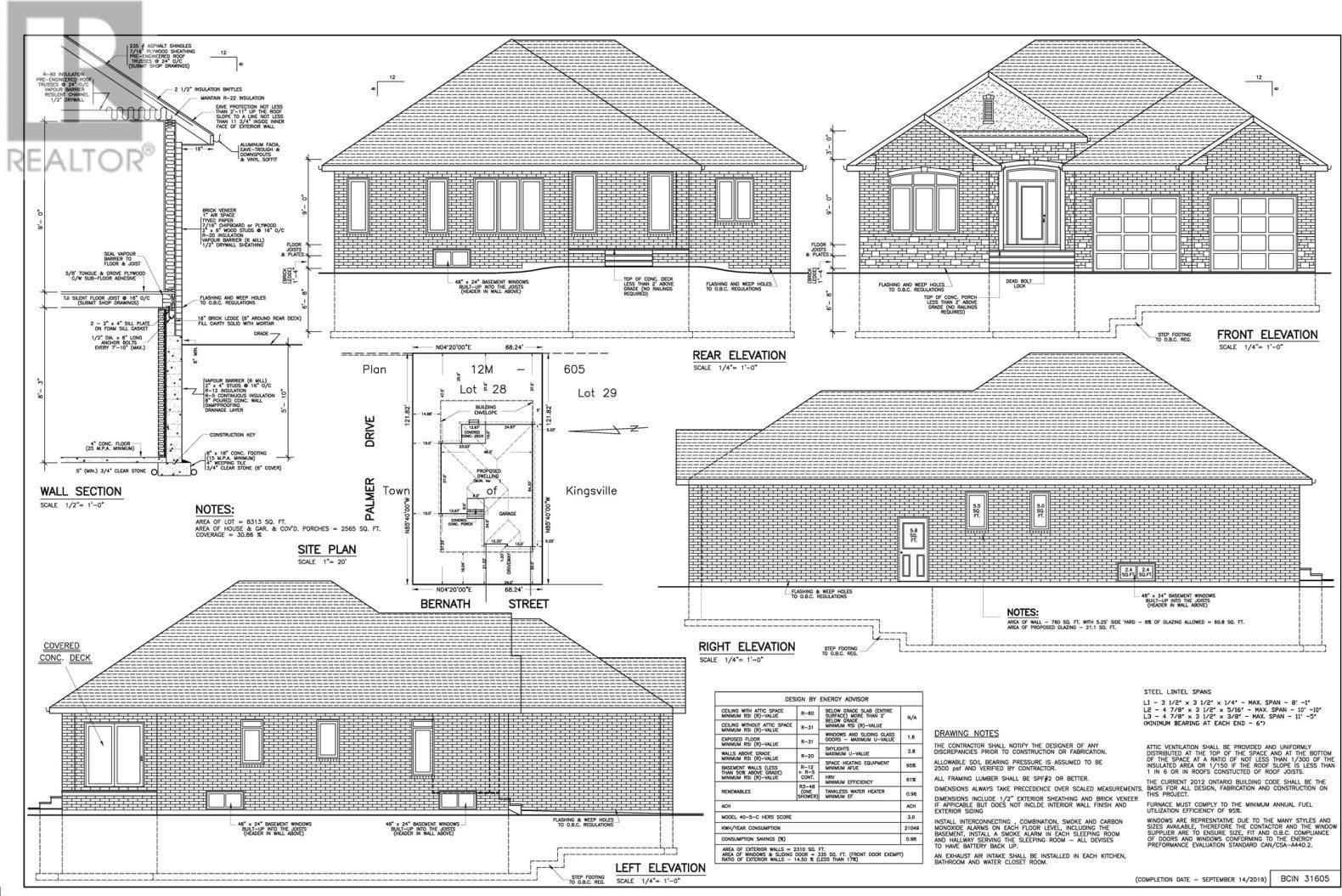 House for sale at 243 Serena St Kingsville Ontario - MLS: 19025961