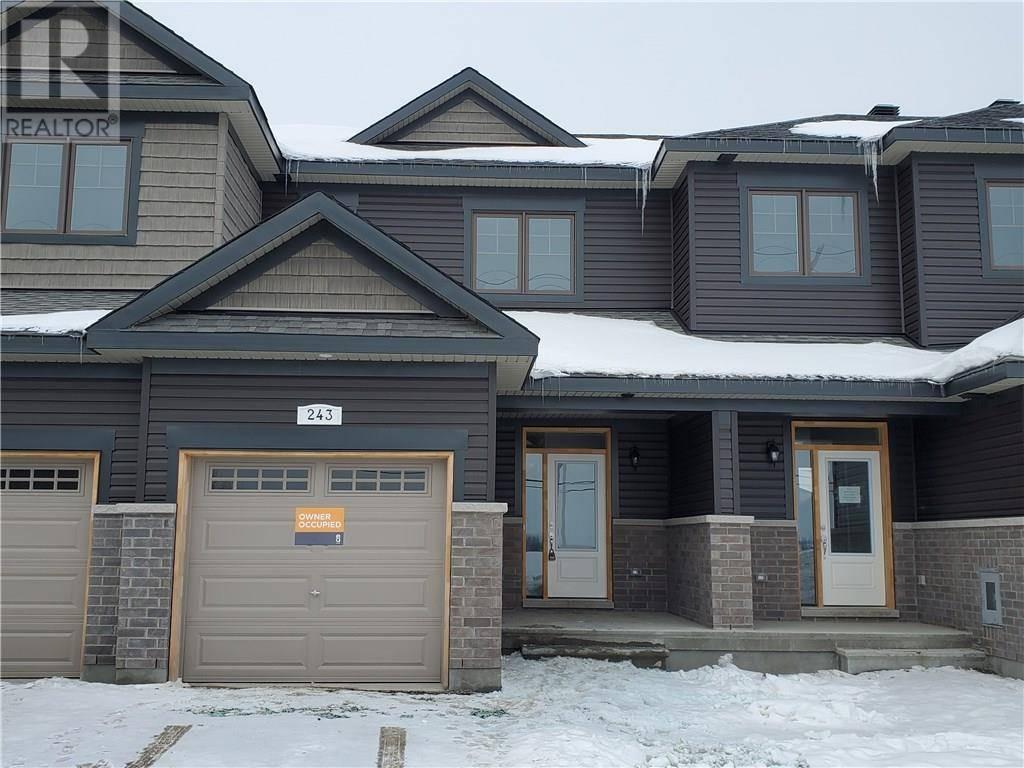 Townhouse for rent at 243 Tim Sheehan Pl Stittsville Ontario - MLS: 1181489