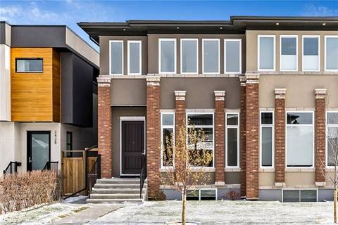Townhouse for sale at 2430 32 St Southwest Calgary Alberta - MLS: C4274328