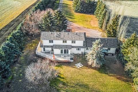 House for sale at 243001 Range Road 240  Rural Wheatland County Alberta - MLS: C4233358