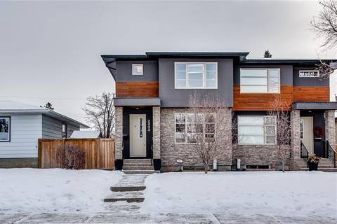 Townhouse for sale at 2434 34 St Southwest Calgary Alberta - MLS: C4281390