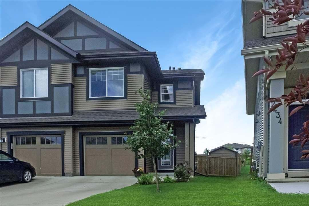 Townhouse for sale at 2436 Cassidy Wy SW Edmonton Alberta - MLS: E4206454