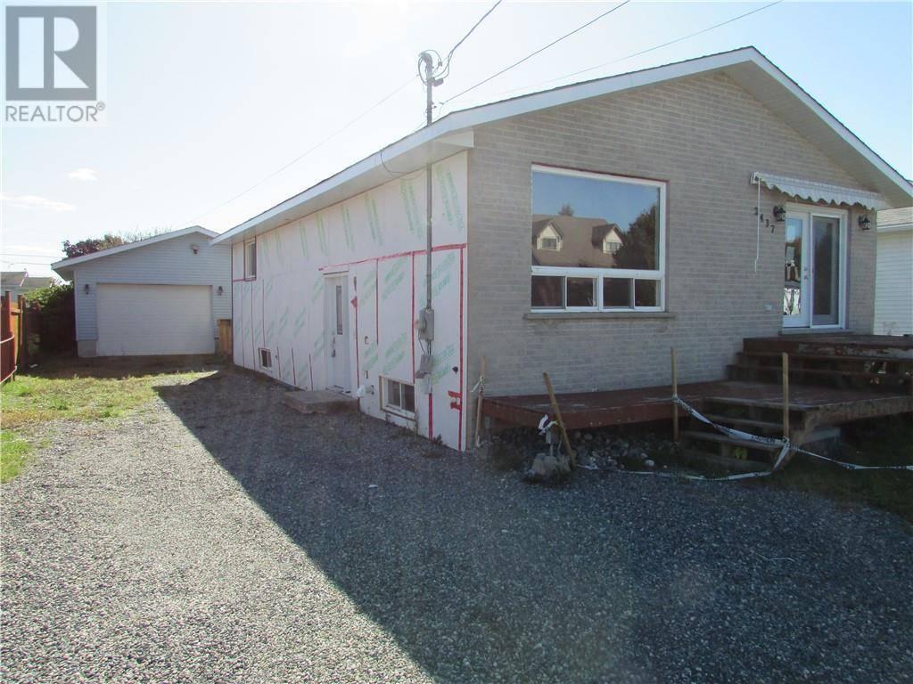 House for sale at 2437 Lebel St Sudbury Ontario - MLS: 2081981