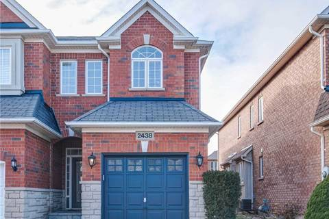 Townhouse for sale at 2438 Felhaber Cres Oakville Ontario - MLS: W4679022