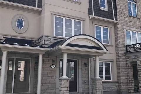 Townhouse for sale at 244 Ellen Davidson Dr Oakville Ontario - MLS: W4649329
