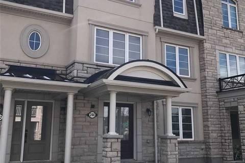 Townhouse for sale at 244 Ellen Davidson Dr Oakville Ontario - MLS: W4649329