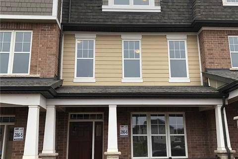 Townhouse for rent at 244 Harold Dent Tr Oakville Ontario - MLS: W4412219