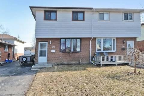 Townhouse for sale at 244 Kinmount Cres Oshawa Ontario - MLS: E4406182