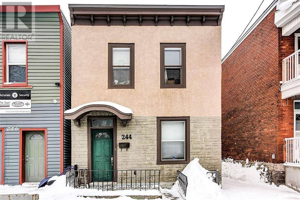 Townhouse for sale at 244 Rochester St Ottawa Ontario - MLS: 1183764