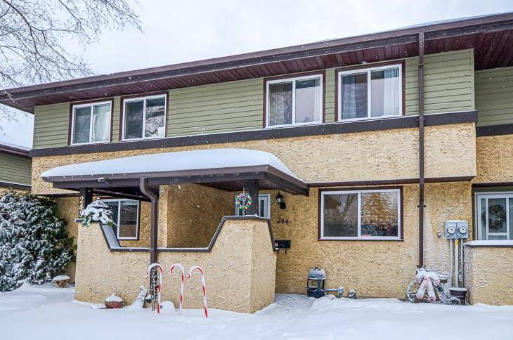 Townhouse for sale at 244 Woodbridge Wy Sherwood Park Alberta - MLS: E4184878