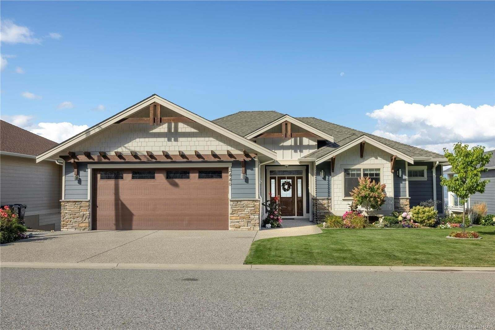 House for sale at 2440 Loseth Rd Kelowna British Columbia - MLS: 10215429