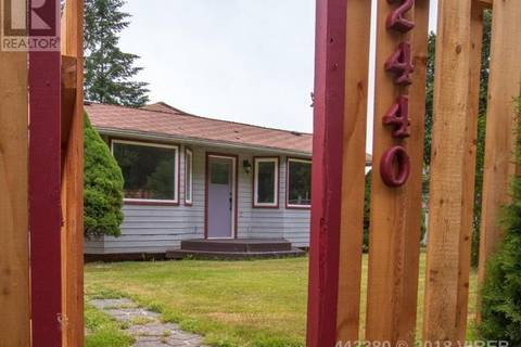 House for sale at 2440 Quinsam Rd Campbell River British Columbia - MLS: 443380