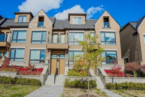 Townhouse for sale at 244 Finch Ave Toronto Ontario - MLS: C4619497