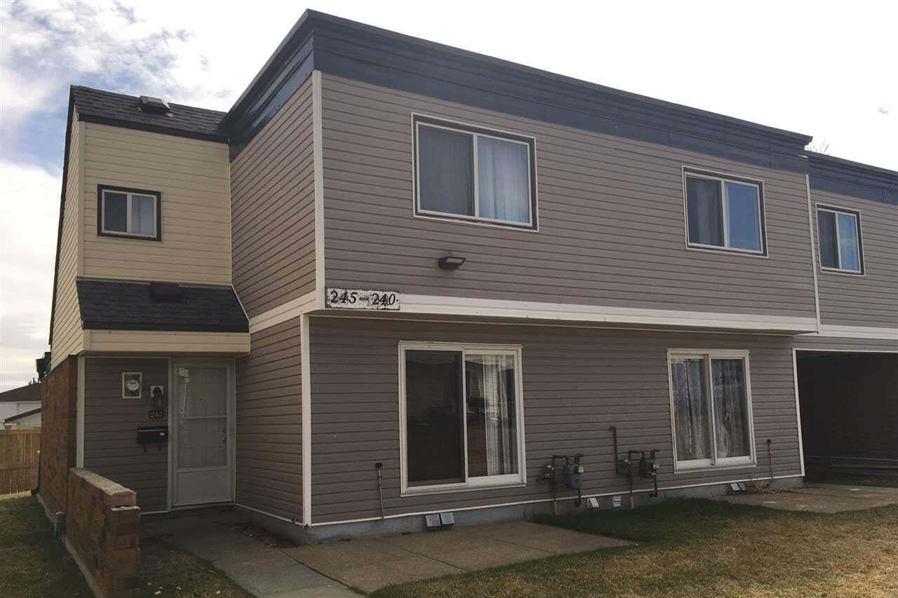 Townhouse for sale at 3307 116a Av NW Unit 245 Edmonton Alberta - MLS: E4200236